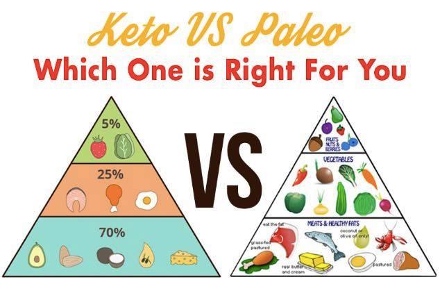 keto diet vs paleo